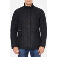 Barbour Mens Chelsea Sportsquilt Coat - Black - L - Black
