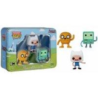 Adventure Time Pocket Mini Pop! Vinyl Figure 3 Pack Tin