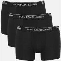Polo Ralph Lauren Men's 3 Pack Trunk Boxer Shorts - Black - XL - Black