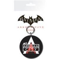 DC Comics Batman Arkham City Logo - Keyring