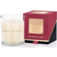 Baylis & Harding Mosaic Midnight Pomegranate and Elderflower Single Wick Candle