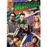 The Big Bang Theory Comic Bazinga - 40 x 55 Inches Giant Poster - The Big Bang Theory Gifts