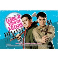 Lesbian Vampire Killers One Sheet - 24 x 36 Inches Maxi Poster - Vampire Gifts