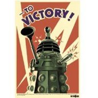 Doctor Who Dalek To Victory - 24 x 36 Inches Maxi Poster