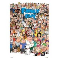 Family Guy Characters - 24 x 36 Inches Maxi Poster - Family Guy Gifts