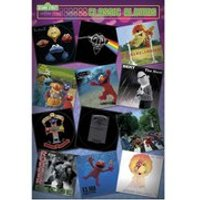 Sesame Street Classic Albums - 24 x 36 Inches Maxi Poster - Sesame Street Gifts