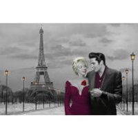 Paris Sunset Chris Consani - 24 x 36 Inches Maxi Poster - Paris Gifts