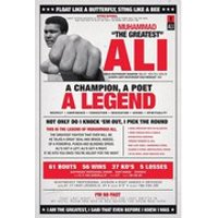 Muhammad Ali Vintage - 24 x 36 Inches Maxi Poster - Vintage Gifts