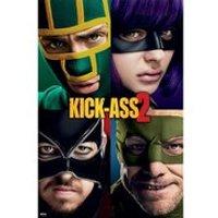 Kick Ass 2 Cast - 24 x 36 Inches Maxi Poster