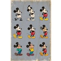 Disney Mickey Mouse Evolution - 24 x 36 Inches Maxi Poster