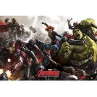 Marvel Avengers Age Of Ultron Battle - 24 x 36 Inches Maxi Poster