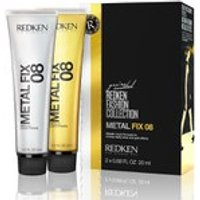 Redken Metal Fix 08 Metallic Liquid Pomade (2 x 20ml)