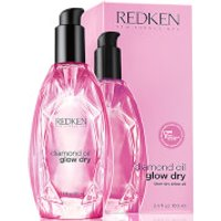 Redken Diamond Oil Glow Dry Style Enhancing Oil (100ml)
