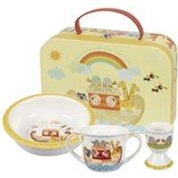 Little Rhymes Noahs Ark 3 Piece Mug, Porringer and Egg Cup Set in a Gift Box