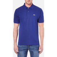 Lacoste Mens Short Sleeve Polo Shirt - Ocean - S/3 - Blue
