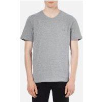 BOSS Hugo Boss Men's Crew Neck Small Logo T-Shirt - Grey - L - Grey