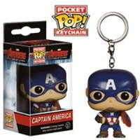 Marvel Avengers Age of Ultron Captain America Pop! Vinyl Key Chain
