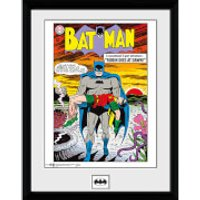 DC Comics Batman Comic Robin Dies at Dawn - 16 x 12 Inches Framed Photographic - Robin Gifts