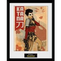 DC Comics Katana - 16 x 12 Inches Framed Photographic - Comics Gifts