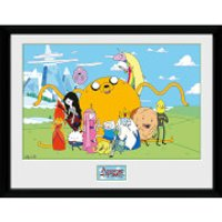 Adventure Time Group - 16 x 12 Inches Framed Photographic - Adventure Time Gifts