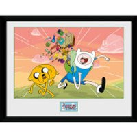 Adventure Time Finn & Jake - 16 x 12 Inches Framed Photographic - Adventure Time Gifts