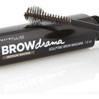 Maybelline Brow Drama Sculpting Brow Mascara (Various Shades) - Medium Brown