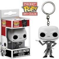 Disney Nightmare Before Christmas Jack Skellington Pocket Pop! Vinyl Key Chain