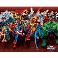 Marvel Heroes Attack - 16 x 20 Inches Mini Poster