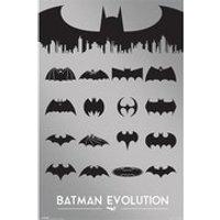 DC Comics Batman Evolution - 24 x 36 Inches Maxi Poster