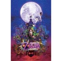 Nintendo The Legend Of Zelda Majoras Mask - 24 x 36 Inches Maxi Poster