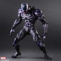 Square Enix Marvel Comics Venom Variant Play Arts Kai Figure - Marvel Gifts