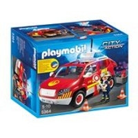 Playmobil Fire Chiefs Car with Lights and Sound (5364)