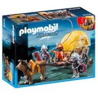 Playmobil Hawk Knights with Camouflage Wagon (6005)