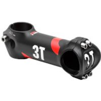 3T Arx II Team Alloy Stem - +/- 6 Degrees - 80mm - Black/Red