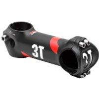 3T Arx II Team Alloy Stem - +/- 6 Degrees - 70mm - Black/Red