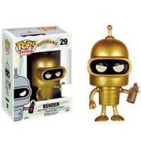 Futurama Golden Bender SDCC Exclusive Pop! Vinyl Figure - Futurama Gifts