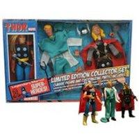 Diamond Select Marvel Retro Thor Limited Edition Collector Figure Set