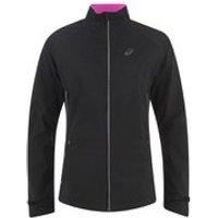 Asics Womens Windstopper Running Jacket - Performance Black - S