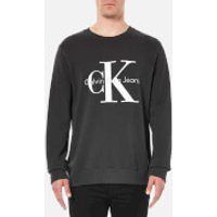 Calvin Klein Mens 90s Re-Issue Sweatshirt - Black - XL - Black