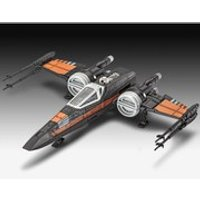 Star Wars The Force Awakens Poes X-Wing Fighter Build And Play Model Kit