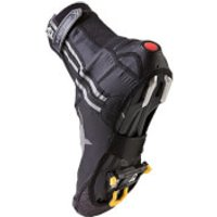 SealSkinz Lightweight Halo Overshoes - Black/Red - M - Black/Red