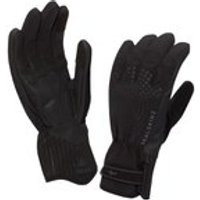 SealSkinz Womens Brecon XP Cycle Gloves - Black/Black - L - BLACK/BLACK