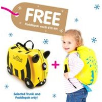 Trunki Bernard Suitcase with Free Spike PaddlePak