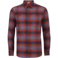 Merrell Subpolar Flannel Shirt - Dark Rust - S - Red