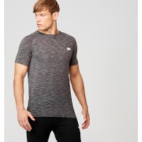 Performance Short Sleeve Top - S - Charcoal Marl
