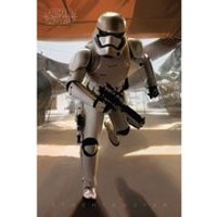 Star Wars: The Force Awakens Stormtrooper Running - 24 x 36 Inches Maxi Poster - Running Gifts