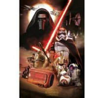 Star Wars: The Force Awakens Montage - 24 x 36 Inches Maxi Poster