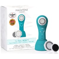 "Magnitone London The Full Monty! Vibra-Sonicâ""¢ Daily Skincare Brush - Electric Blue"