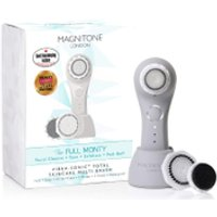"Magnitone London The Full Monty! Vibra-Sonicâ""¢ Daily Skincare Brush - Cool Grey"