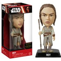Star Wars The Force Awakens Rey Wacky Wobbler Bobble Head - Star Wars Gifts